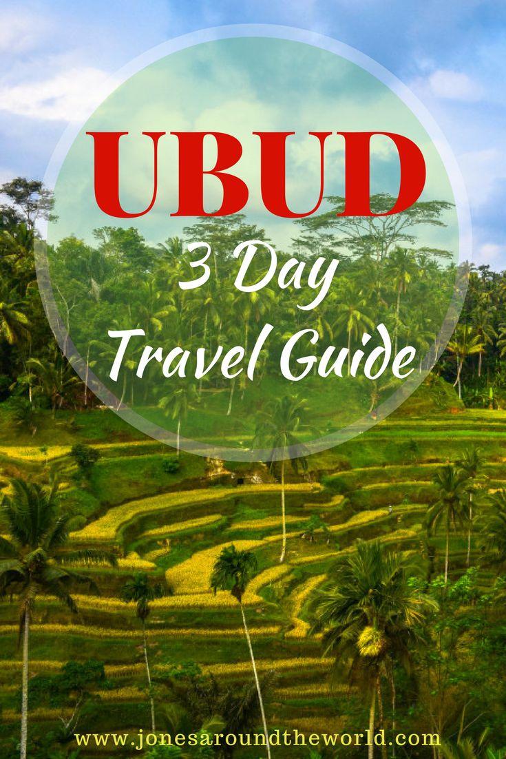 3 Day Ubud Travel Guide!    #Bali #Indonesia #Ubud
