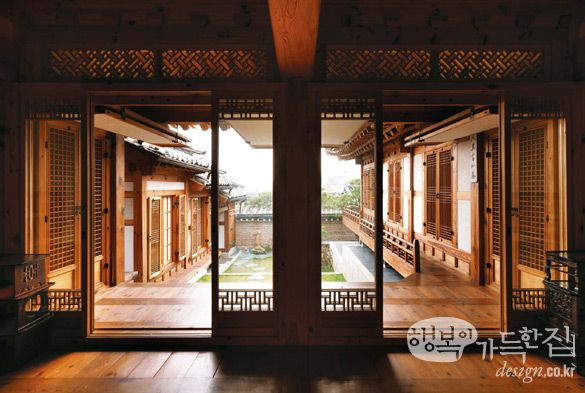 Courtyard for my soul....... Korean house