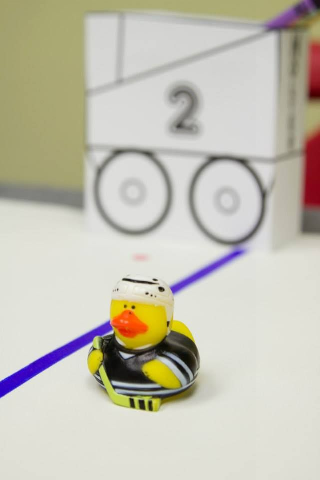 Hockey rubber ducky
