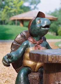 LOVE This Franklin The Turtle Sculpture