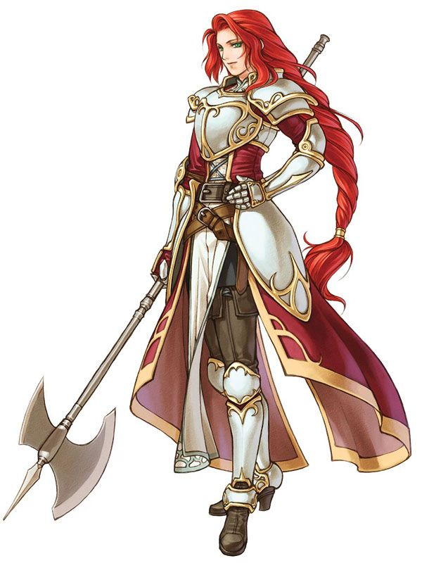 Fire Emblem: Path of Radiance: Titania one of my favorite characters from the games. Just beat Radiant Dawn, actually lololol