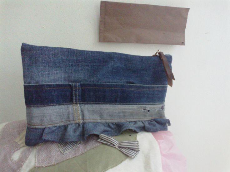 Bustina jeans - Natascia Ferrini