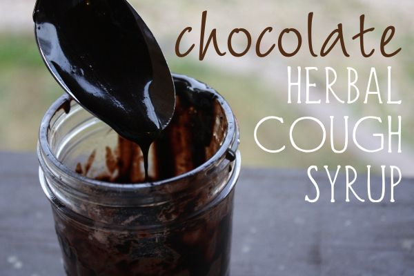 How To Make A Delicious, Chocolate Herbal Cough Syrup - http://GrowingUpHerbal.com