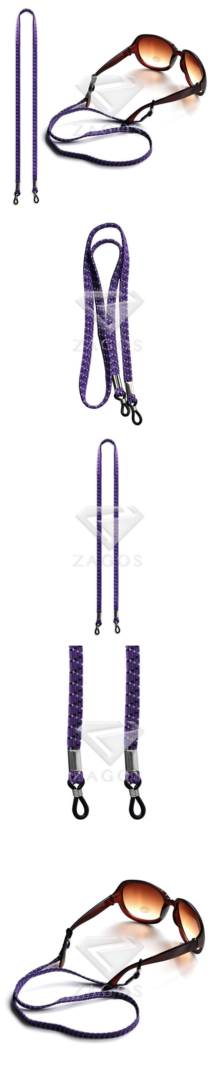 "63cm/25"" Adjustable String Purple Glasses Sunglasses Spectacle Chain Strap Cord Holder Neck Lanyard Eyeglass Wholesale EC0013"