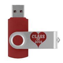 Class of 2016, Graduation Teacher Reunion USB Flash Drive