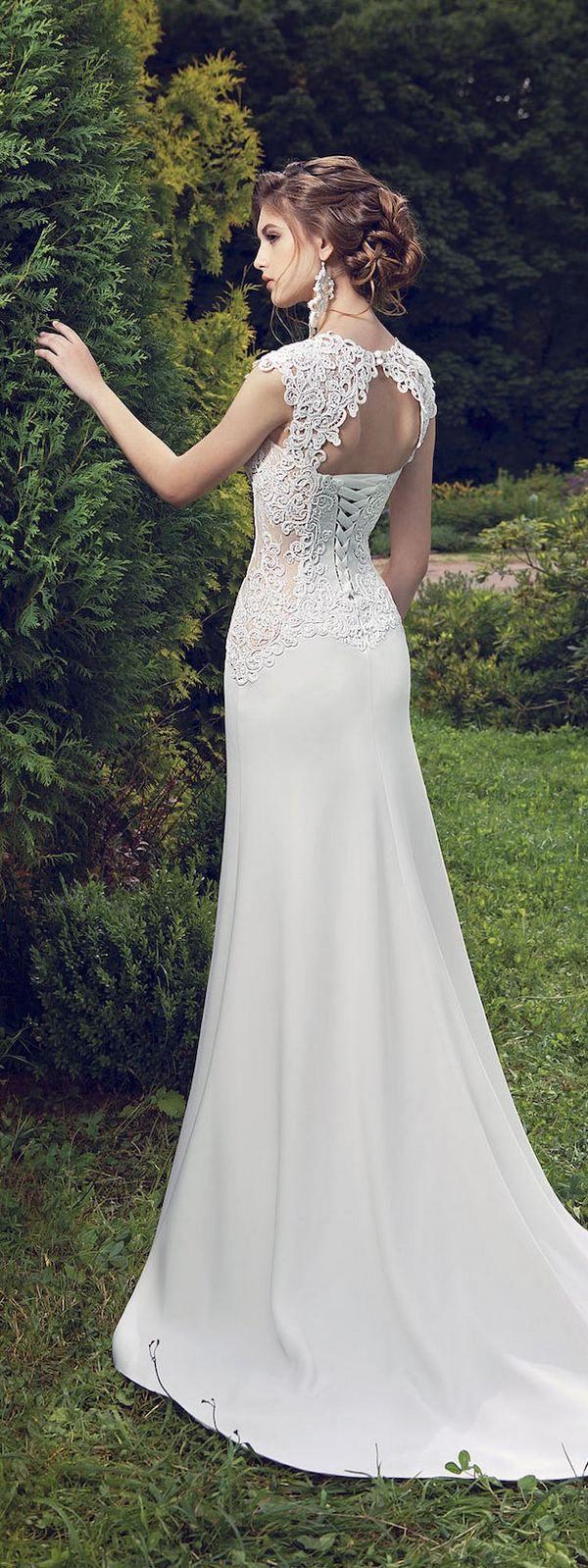 Milva 2016 Wedding Dresses Fairy Garden Collection / http://www.deerpearlflowers.com/milva-wedding-dresses/19/