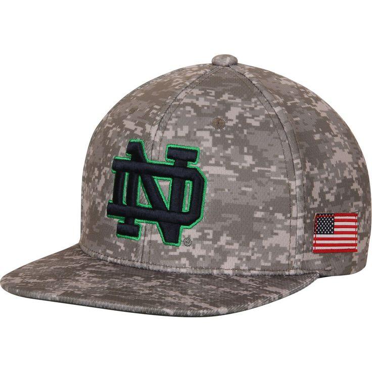 Men's Top of the World Camo Notre Dame Fighting Irish Digital Snapback Adjustable Hat