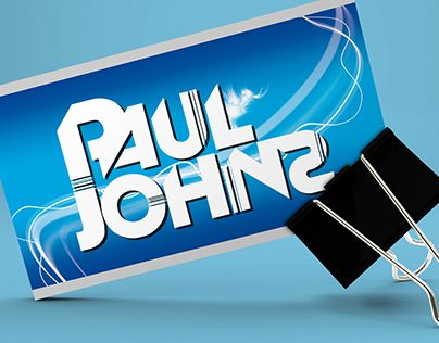 "Check out new work on my @Behance portfolio: ""Business Card Design for DJ & Presenter Paul Johns"" http://be.net/gallery/50870783/Business-Card-Design-for-DJ-Presenter-Paul-Johns"