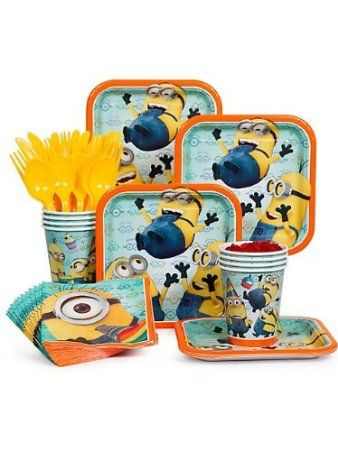 Despicable Me Birthday Party Pack Supplies