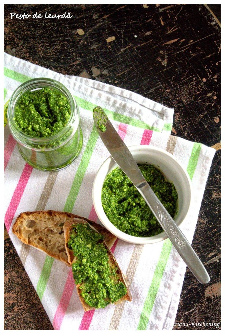 Kitchening: Pesto de leurdă