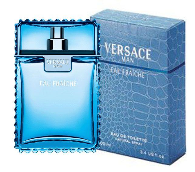 Versace Man Eau Fraiche EDT Spray 100 ml 3.4 fl. OZ. www.peraroma.com