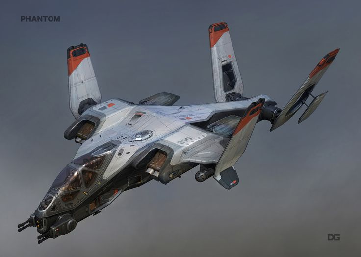 ArtStation - Titanfall 2 Phantom Airship, Danny Gardner