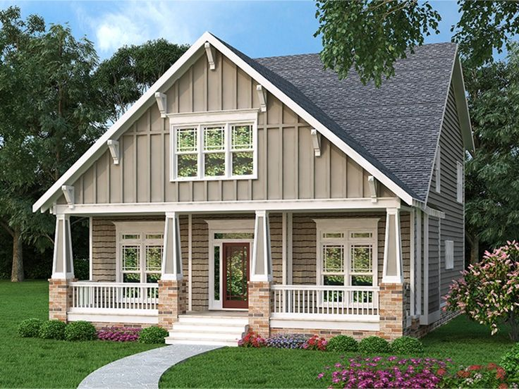 Best 25 bungalow homes plans ideas on pinterest for Eplans craftsman bungalow 11192