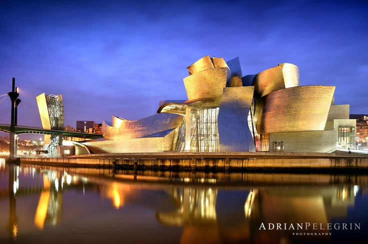 Museo Guggenheim Bilbao Arquitectura Pinterest