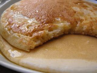 At Anna's kitchen table: Nigella's American pancakes