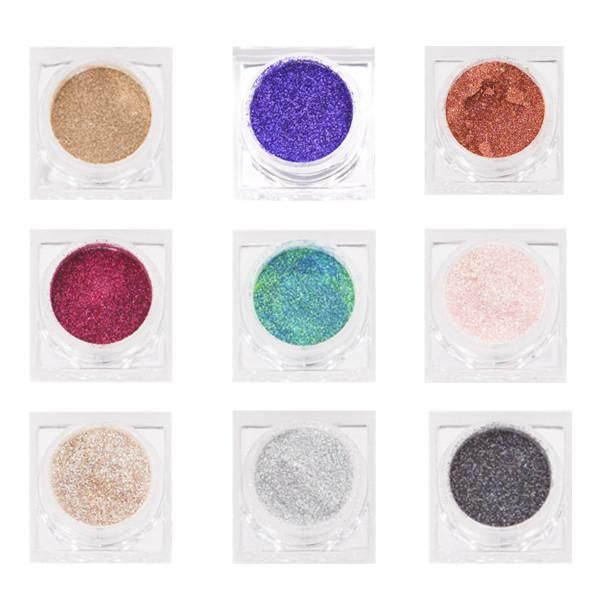 "Lit Cosmetics Glitter is a loose, high-sparkle cosmetic grade glitter which casts maximum light reflection. Add a glitter to your shadow, liners, lipstick, eyebrows, blush, body lotions, hair spray, nail polish, love letter, or whatever your heart desires! What It Is: A loose, high-sparkle cosmetic grade glitter, which casts maximum light reflection. Lit also offers a ""Rounded"" glitter shape opposed to a ""Square"" or ""Diamond"" shape to aid in complete comfort on s..."