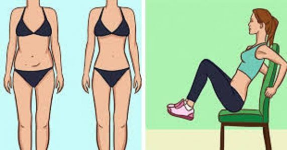 5 Chair Exercises That Will Reduce Your Belly Fat While You Sit! Our lifestyle has become pretty sedentary over the last few decades, and sadly, most of us don't even have time for any kind of physical activity.
