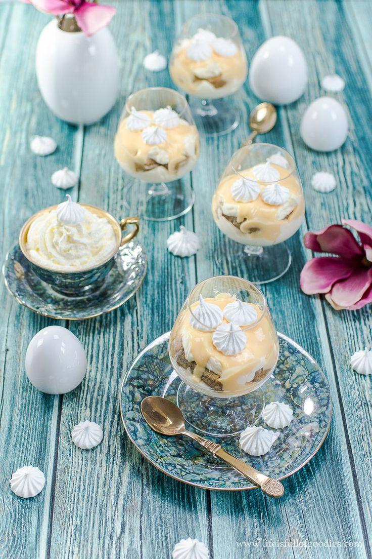 Passend zu Ostern gibt es heute wieder etwas mit Eierlikör, nämlich einen grandiosen Nachtisch. Eierlikör-Tiramisu! Gut vorzubereiten und sagenhaft gut!