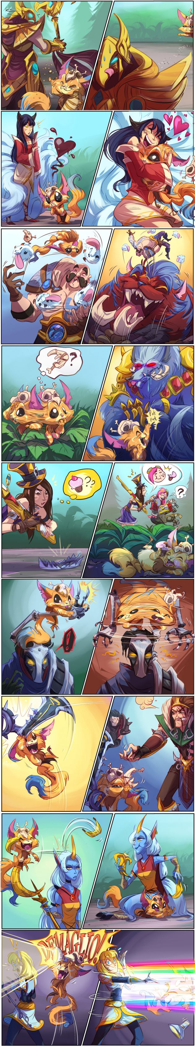 Playtime with gnar!