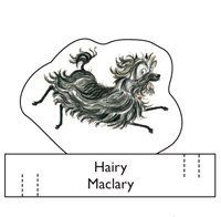 Exactly what i needed!!!  Hairy Maclary activity - finger puppets