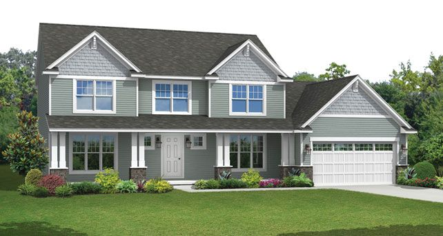 Traditional custom home floor plans the washington Wayne homes floor plans