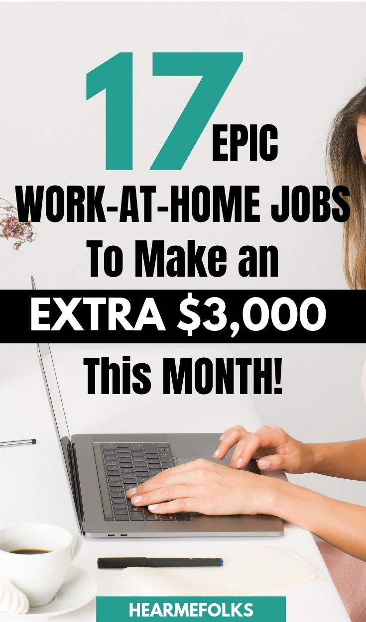 17 Flexible Stay At Home Mom Jobs To Make Up To 80 Hr Work From