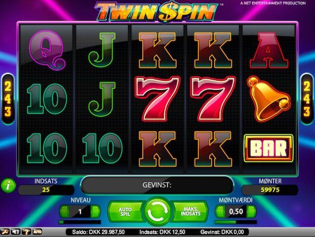Spill gratis Twin Spin er en ny spilleautomat fra NetEntertainment (NetEnt)