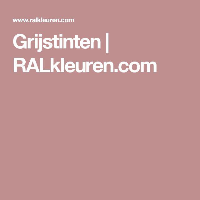 Grijstinten | RALkleuren.com
