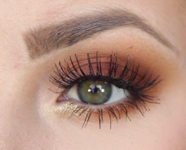 Burnt Orange Eyeshadow Tutorial For Beginners | 12 Colorful Eyeshadow Tutorials ...