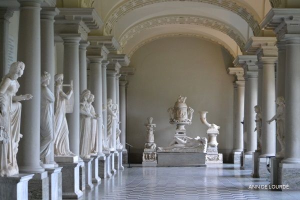 Stora Skulpturgalleriet, Summer 2016, Gustaf III:s Antikmuseum, Kungliga Slottet, Stockhom, Sverige.