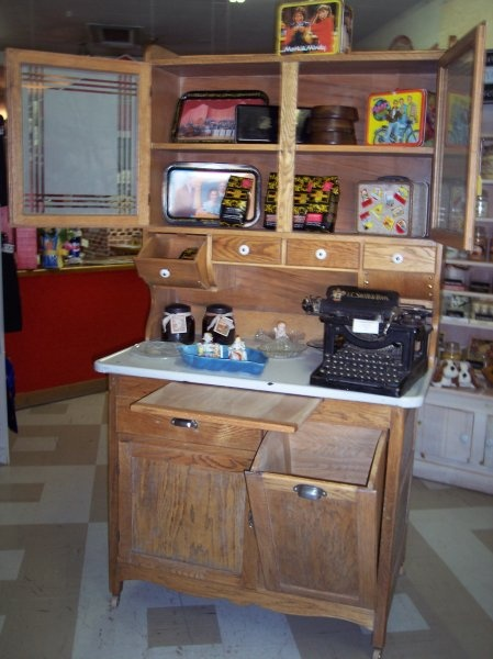 Lovely little different style from the classic  My Dream Kitchen  Hoosier cabinet Kitchen
