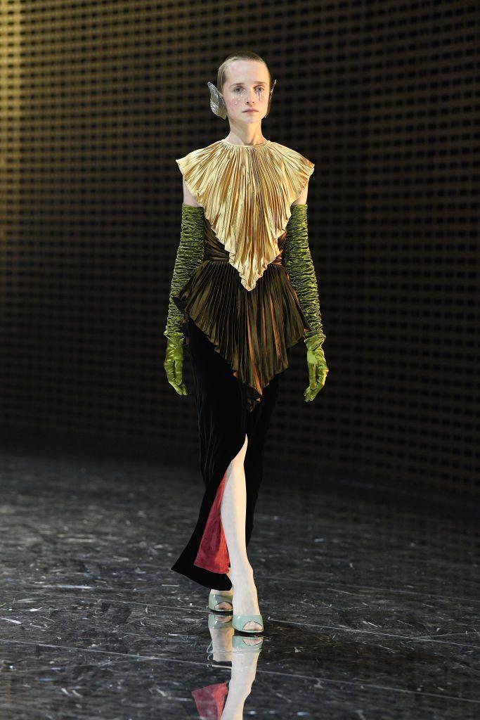 762505d8227b5b La sfilata autunno inverno 2019/2020 di Gucci alla Milano Fashion Week -  Foto iO