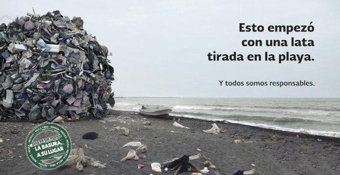 Frases Para No Tirar Basura En La Playa Imagenes Del Medio
