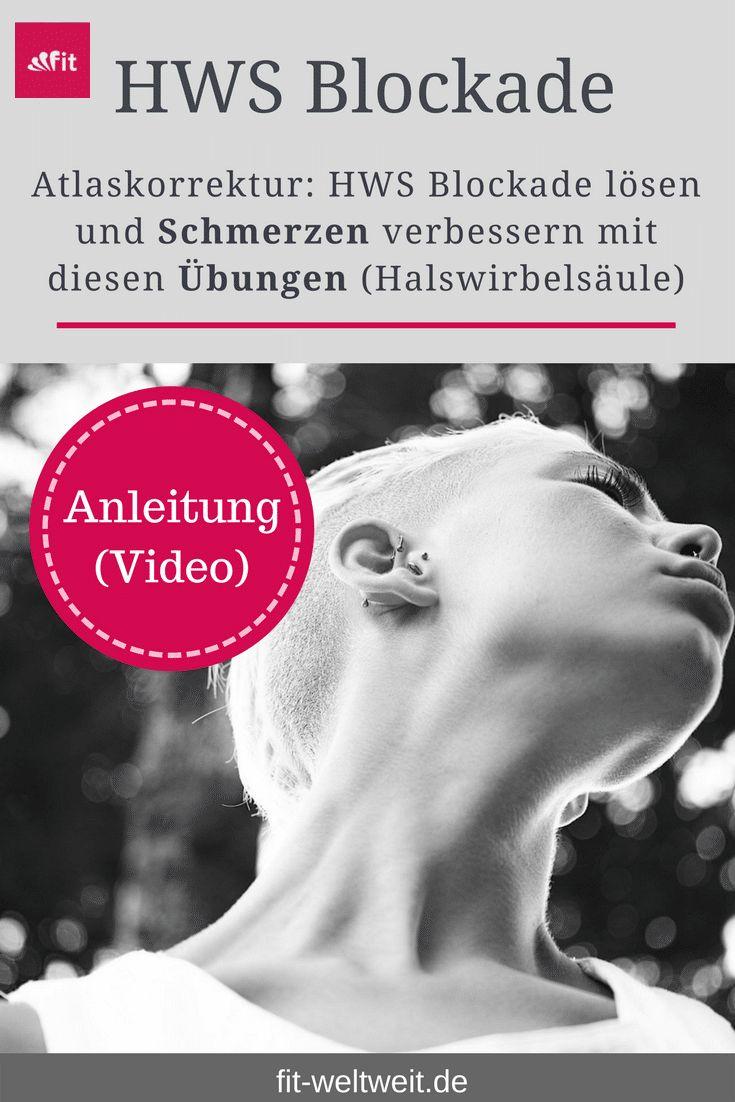 Liebscher Bracht Übungen Nacken (HWS Schmerzen Atlaskorrektur Hals) Marion Fina