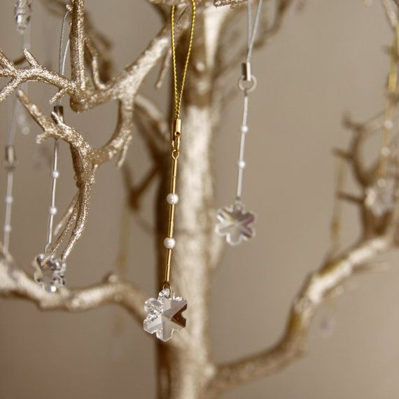 Winter Wedding Wish Tree Snowflake Wedding by SimplyMadWeddings, $250.00