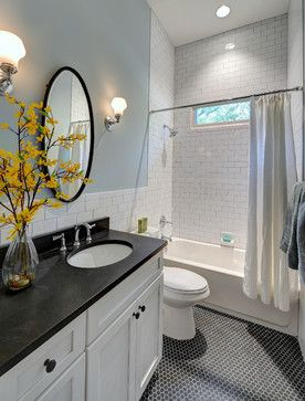 Hill Street Hacienda - traditional - Bathroom - Atlanta - Carl Mattison Design Wall Color  Anonymous by Behr