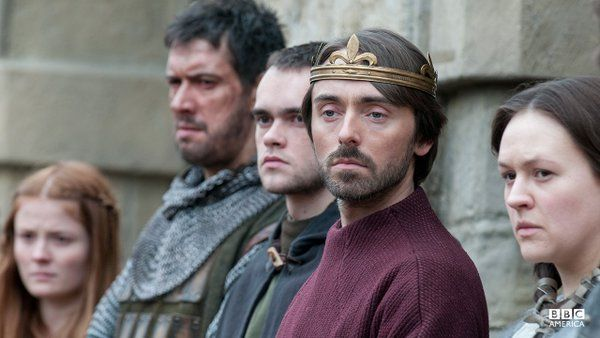 David Dawson as King Alfred The Great in 'The Last Kingdom' 2015.