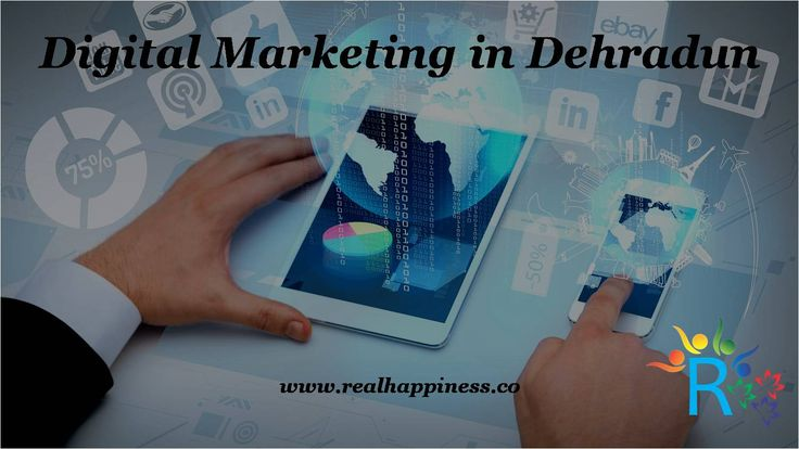 Digital Marketing in Dehradun Digital Marketing is the promotion of any product or brand using digital technologies.  Are you fail to rank on Google?Ask Digital Marketing Expert about your sales of business. Call Us: +91-844-51-44444  http://realhappiness.co/