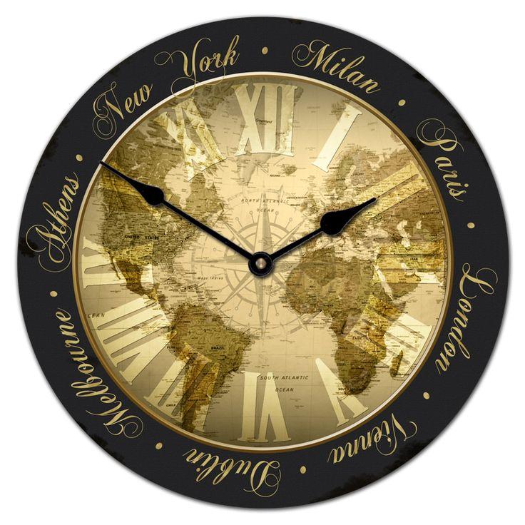 24 best Office Clocks images on Pinterest | Big wall clocks, Large ...
