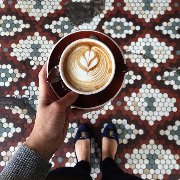 Those tiled floors are gorgeous - not sure if I could pull them off in my own shop, but they certainly are lovely.