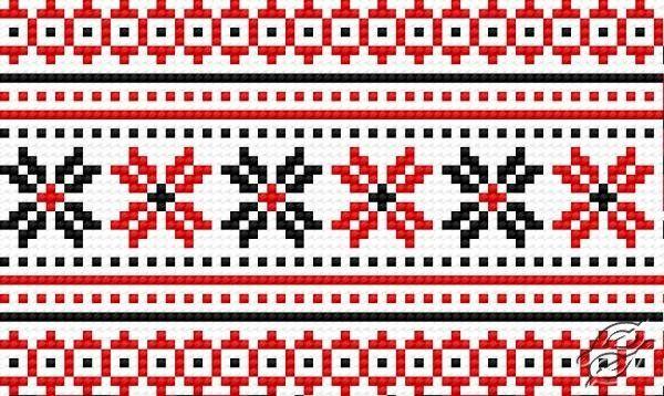 Ukrainian Embroidery - Ornament 98