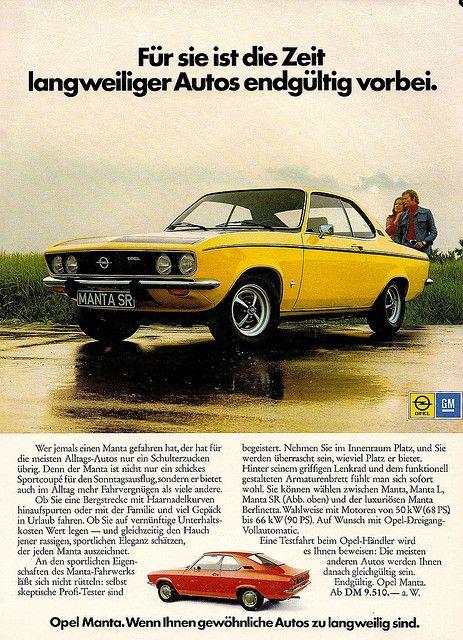 Opel Manta adv (1970ies)