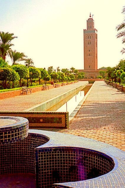(Koutoubia Mosque) The Koutoubia is to Marrakech what the Eiffel Tower is