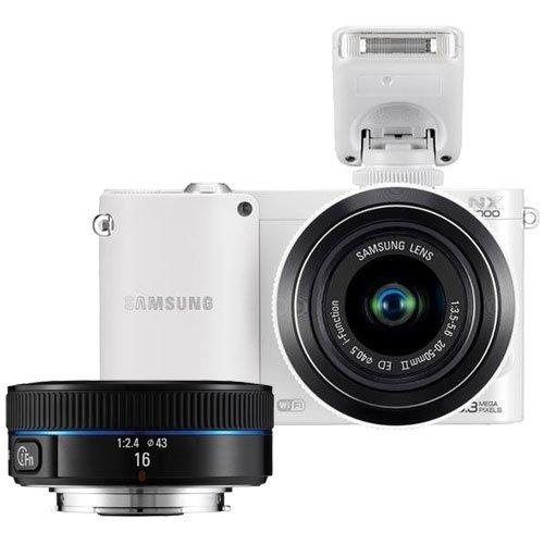 $649.00 Samsung NX1000 Smart Wi-Fi Digital Camera Body & 20-50mm & 16mm f/2.4 Lens (White) - See More Point and Shoot Digital Cameras at http://www.zbuys.com/level.php?node=5905=point-and-shoot-digital-cameras