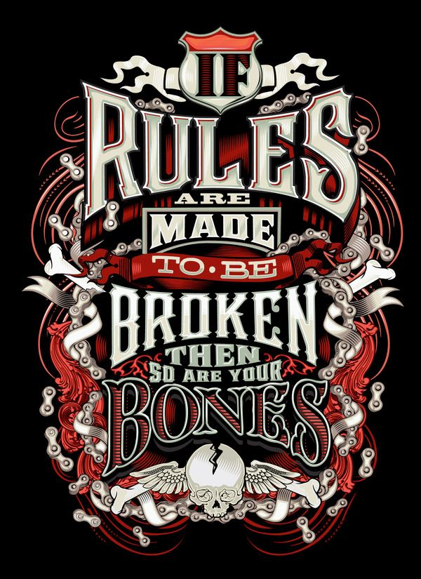 if rules are made...