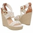 These wedges will add a nautical touch to your look...