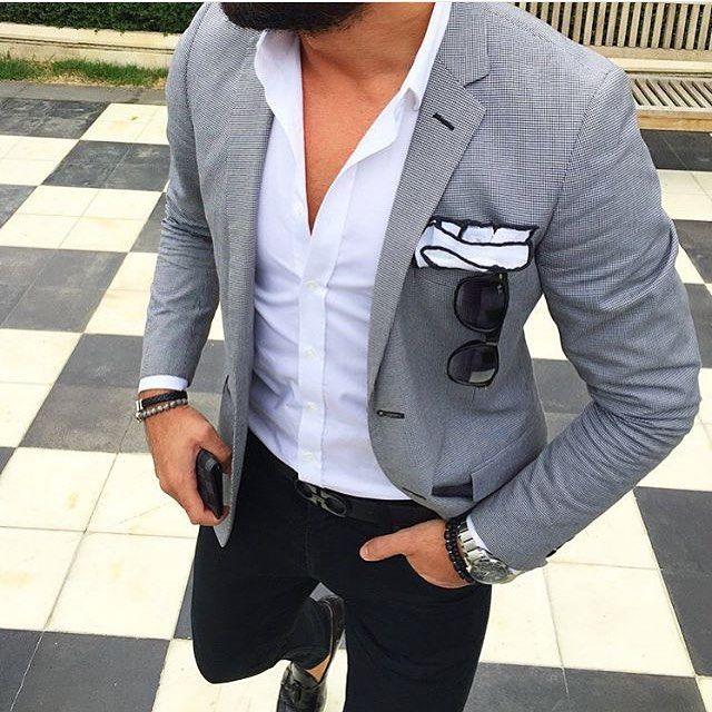 25 best ideas about grey blazer mens on pinterest mens