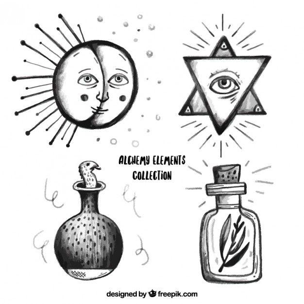 古代炼金术符号和意义 - - 雅虎图像搜索结果