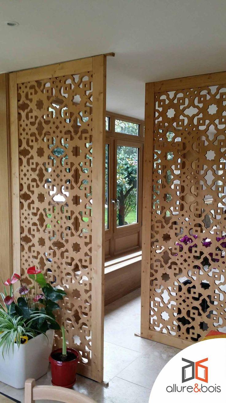 Les 53 meilleures images propos de moucharabieh sur - Separation decorative entre 2 pieces ...
