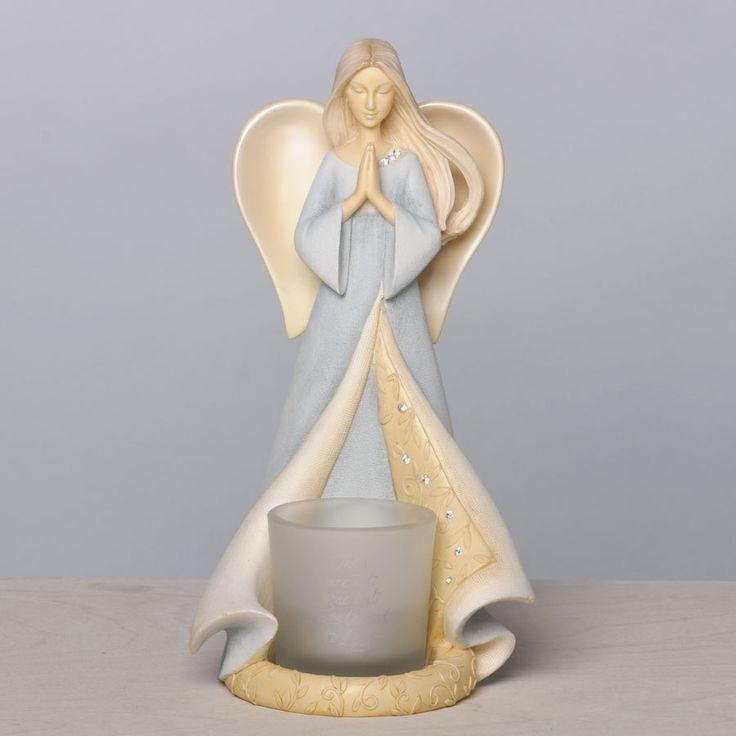 Чтоб донести благие вести, спустились Ангелы с небес!Hежная керамика от Karen Hahn. Обсуждение на LiveInternet - Российский Сервис Онлайн-Дневников